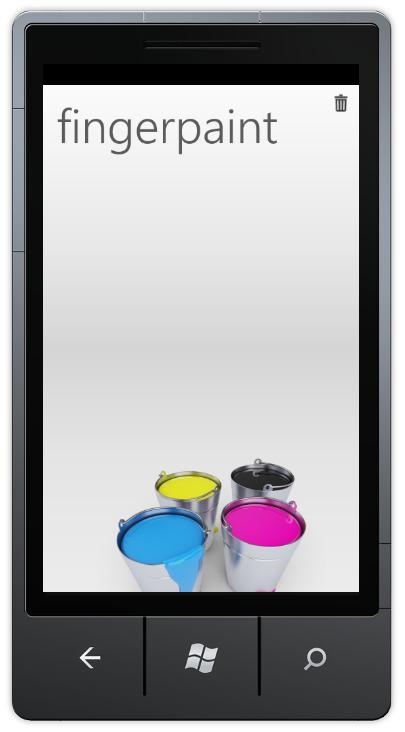 fingerpaint – a little wp7 paint app | Sigurd Snørteland