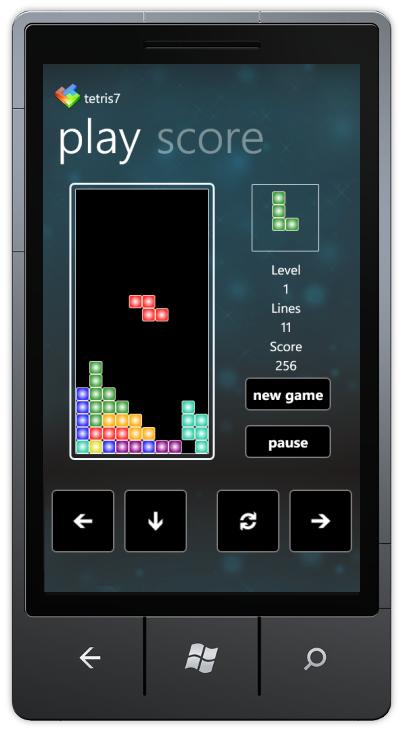 Tetris7 – a wp7 game (source code included) | Sigurd Snørteland